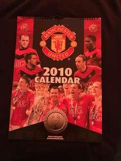 Year 2010 Manchester United Calendar
