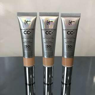 Brand New IT Cosmetics Your Skin But Better CC+ Cream (Shade Tan only)