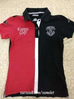 KAPPA ITALIA Collar shirt | Original KAPPA Golf | Kaos berkerah | Red Black polo shirt | Merah Hitam | OOTD| Baju murah branded | Sport | Olahraga| Baju | Atasan | #Kemeja50