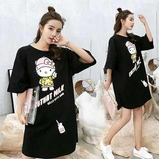 Hello Kitty T-shirt dress