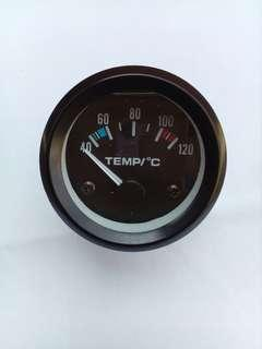 Water temperature meter gauge