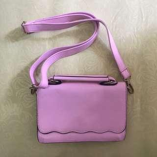 Zalora Pink Sling Bag