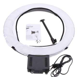 NanGuang Fluorescent Ring Light NG-65C with Super Soft Diffuser