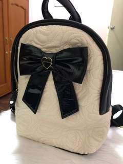 Betsey Johnson Bow Backpack