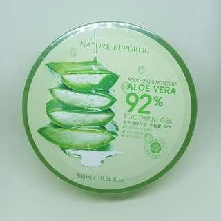 [FREE SHEETMASK] Nature Republic Aloe Vera 92% Soothing Gel