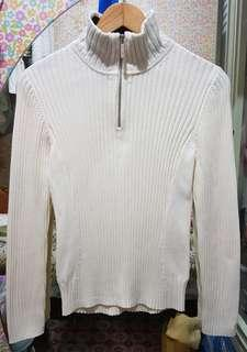Tommy hilfiger 2way knitted turtle neck top