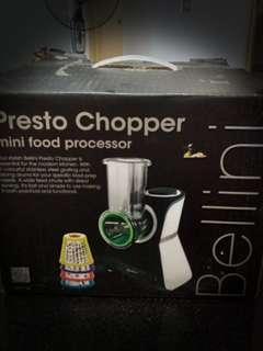 Bellini presto mini chopper