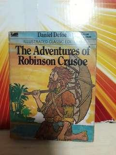 Illustrated classic Editions The Adventures of Robinson Crusoe
