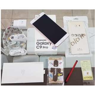 *典藏奇機*極新展示機-女神粉 6+64GB Samsung Galaxy C9 Pro 6吋大螢幕 1600萬畫素