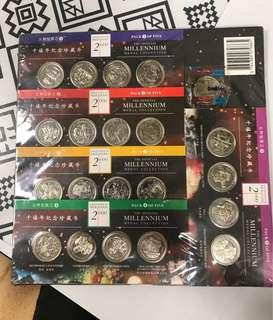 TGN - Millennium medal collection