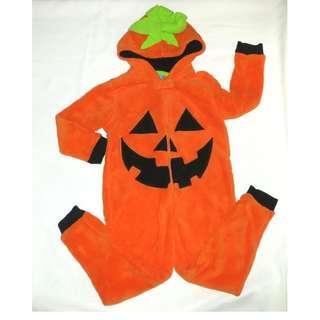 萬聖節 halloween custom 大仔連身衣 南瓜款