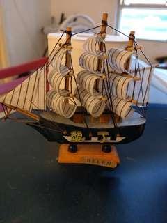 墾丁手作帆船