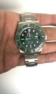 ROLEX 116610 LV