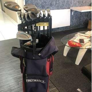 ProSelect Ladies Golf Club Full Set