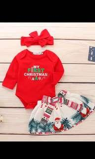 PO babies Christmas party Wear Brand New Size for 0-24months brand new