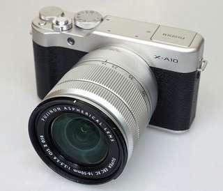 Kredit kamera mirrorless Fujifilm X-a10, Promo gratis 1x cicilan
