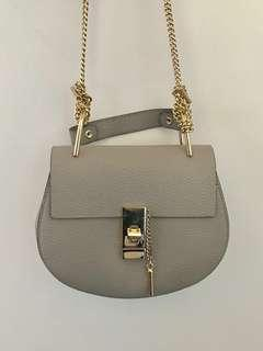 🎀Grey leather chain bag