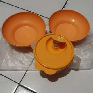 mangkuk dan tempat sup tupperware
