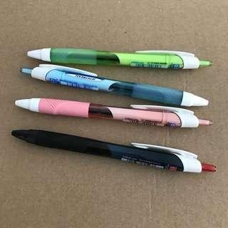 (bundle deal) Uni Jetstream Ball Point Pen red and blue ink @sunwalker