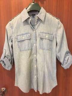 Ralph Lauren denim button down shirt
