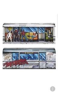 hasbro sdcc netflix DEFENDERS RAIL AUTHORITY 5-PACK JESSICA JONES, LUKE CAGE, DAREDEVIL IRON FIST, AND COLLEEN WING in stock