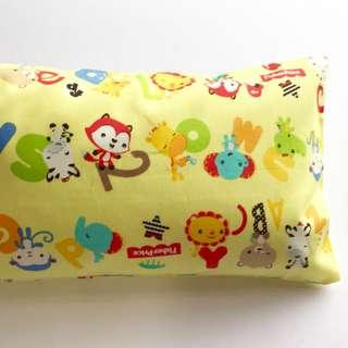 🌈 Bean Sprout Husk Pillow / Beanie Pillow , Fabric from Japan ( 100% Handmade 100% Cotton , Premium Quality!) size 15 x 40cm Fisher Price