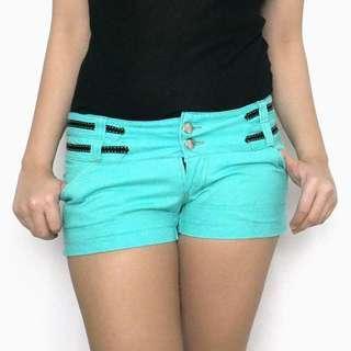 Aqua Blue Green Shorts