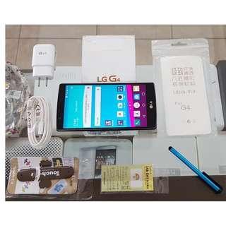 *典藏奇機*極新展示機-內建32G高容量-LG G4 LTE 4G 5.5吋螢幕 1600萬照相 六核心