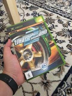 Need For Speed NFS Underground 2 original Xbox Game