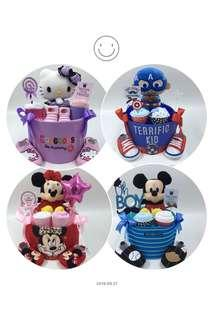 Ready stock Baby Diapers Cake