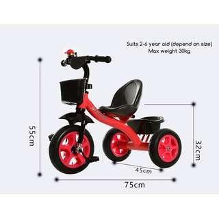 🆒🆕 ERT Tricycle - Kids Children 3 wheel bicycle training toy