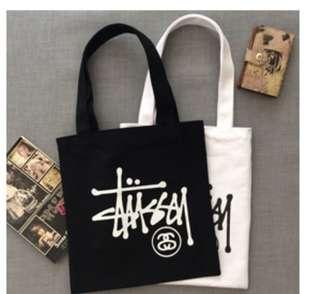 Stussy Canvas  Tote Bag