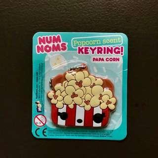 Num Noms Popcorn scent keyring papa corn 5x5.6cm