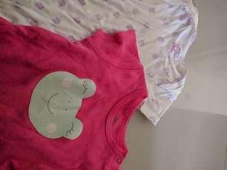 Preloved - Carter Baby Bodysuit 6months (2pcs)