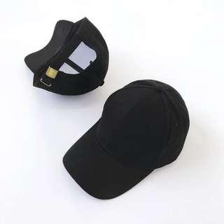 🚚 素色棒球帽🧢黑