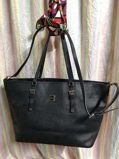 Original Sisley Saffiano 2-way Tote Bag