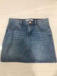 Stradivarius skirt jeans