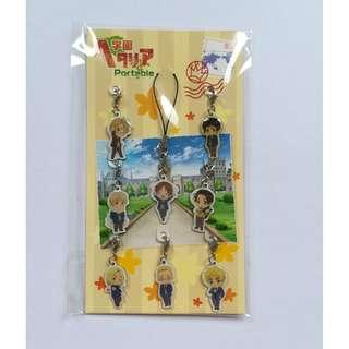 (Limited Edition) Hetalia Axis Powers - Metal Charm Set