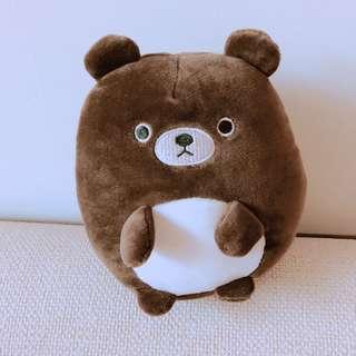 🚚 全新 超親膚柔軟的咖啡熊💙