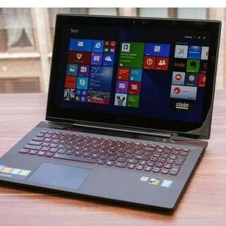 Selling Lenovo Y50 gaming laptop price neg