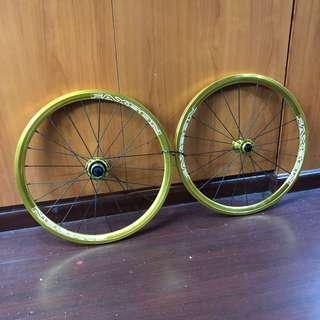 New: Faxson 406 wheels 20inch 74mm 130mm