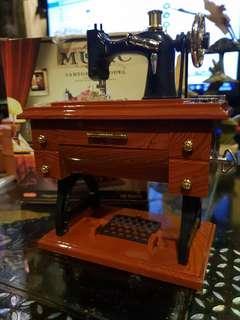 Musical box sewing machine new in box..  nice gift