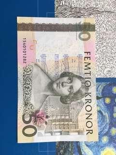 Sweden 🇸🇪 banknote