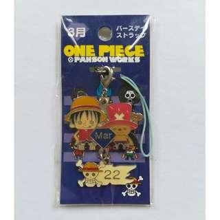 One Piece x Panson Works - Monkey D. Luffy & Tony Tony Chopper - (March) Birthday Strap