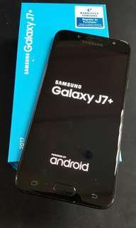 Samsung J7+ (Black)