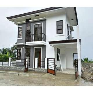 Overlooking house and lot for sale single detached in minglanilla cebu