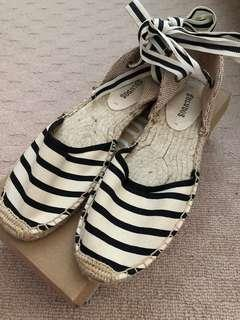Soludos Classic Striped Sandal