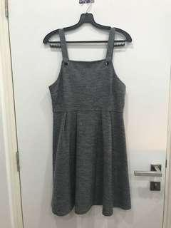 🚚 TEMT Grey Overall Dress