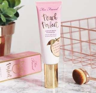 TOO FACE PEACH PERFECT COMFORT MATTE FOUNDATION