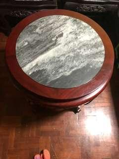 Coffee table rosewood